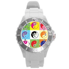 Ying Yang   Plastic Sport Watch (Large)