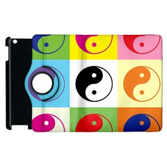 Ying Yang   Apple iPad 3/4 Flip 360 Case