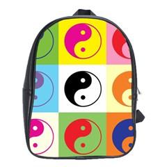 Ying Yang   School Bag (xl)