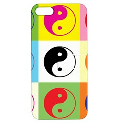 Ying Yang   Apple iPhone 5 Hardshell Case with Stand
