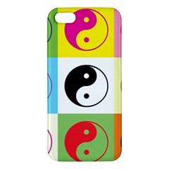Ying Yang   Apple Iphone 5 Premium Hardshell Case