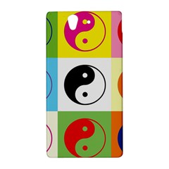 Ying Yang   Sony Xperia Z (L36H) Hardshell Case