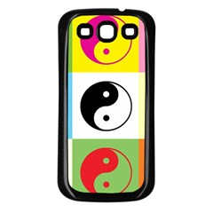 Ying Yang   Samsung Galaxy S3 Back Case (Black)