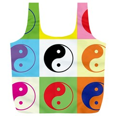 Ying Yang   Reusable Bag (xl)