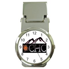 Chc Logo Money Clip With Watch