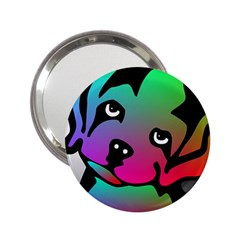 Dog Handbag Mirror (2.25 )