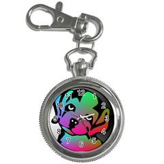 Dog Key Chain Watch