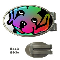 Dog Money Clip (Oval)