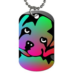 Dog Dog Tag (Two-sided)