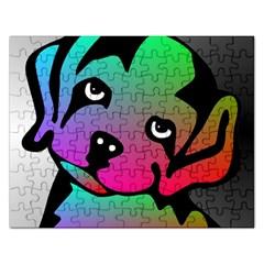 Dog Jigsaw Puzzle (Rectangle)