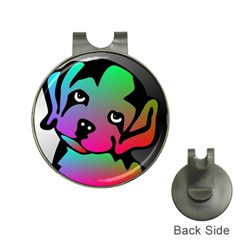 Dog Hat Clip with Golf Ball Marker