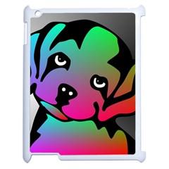 Dog Apple iPad 2 Case (White)