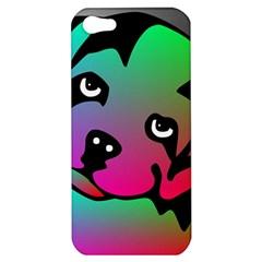 Dog Apple Iphone 5 Hardshell Case