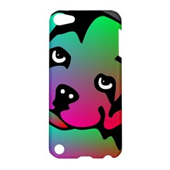 Dog Apple Ipod Touch 5 Hardshell Case