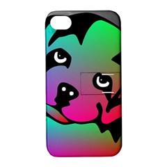 Dog Apple iPhone 4/4S Hardshell Case with Stand