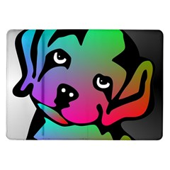 Dog Samsung Galaxy Tab 10 1  P7500 Flip Case