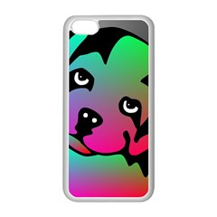 Dog Apple iPhone 5C Seamless Case (White)