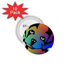 Dog 1.75  Button (10 pack)
