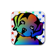 Dog Drink Coasters 4 Pack (Square)