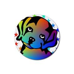 Dog Drink Coaster (round)