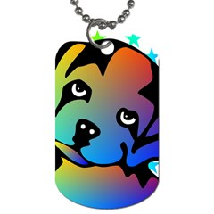 Dog Dog Tag (One Sided)