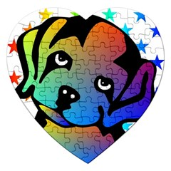 Dog Jigsaw Puzzle (Heart)