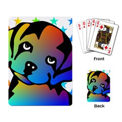 Dog Playing Cards Single Design