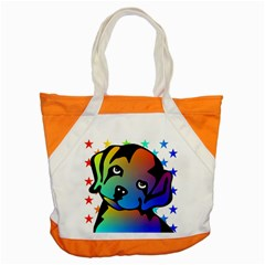 Dog Accent Tote Bag