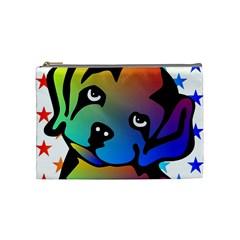 Dog Cosmetic Bag (Medium)