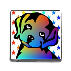 Dog Memory Card Reader With Storage (square)