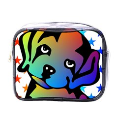 Dog Mini Travel Toiletry Bag (One Side)