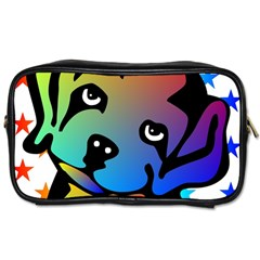 Dog Travel Toiletry Bag (Two Sides)