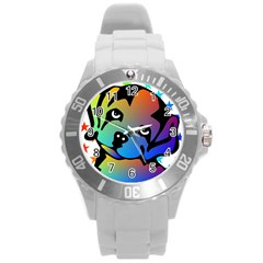 Dog Plastic Sport Watch (large)