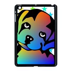 Dog Apple Ipad Mini Case (black)