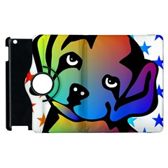 Dog Apple iPad 3/4 Flip 360 Case