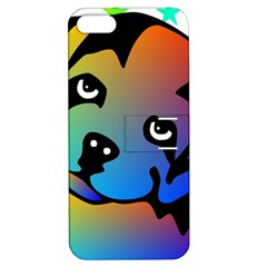 Dog Apple iPhone 5 Hardshell Case with Stand