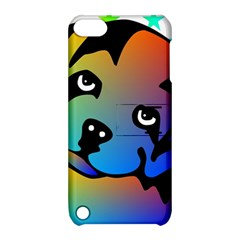 Dog Apple iPod Touch 5 Hardshell Case with Stand