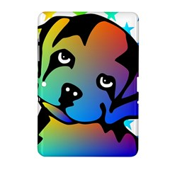 Dog Samsung Galaxy Tab 2 (10.1 ) P5100 Hardshell Case