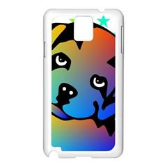 Dog Samsung Galaxy Note 3 N9005 Case (White)
