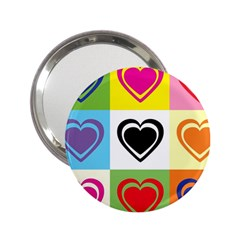 Hearts Handbag Mirror (2.25 )