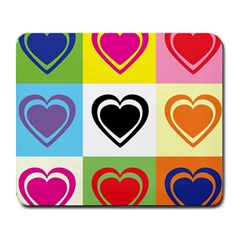 Hearts Large Mouse Pad (rectangle)