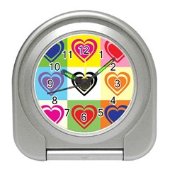 Hearts Desk Alarm Clock