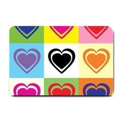 Hearts Small Door Mat