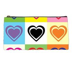 Hearts Pencil Case