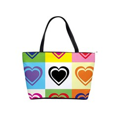 Hearts Large Shoulder Bag