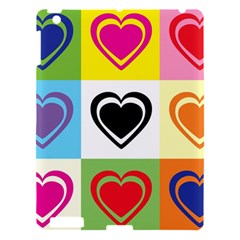 Hearts Apple iPad 3/4 Hardshell Case