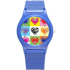 Hearts Plastic Sport Watch (small)
