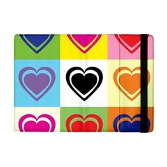 Hearts Apple iPad Mini Flip Case