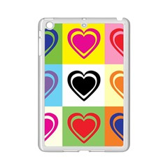 Hearts Apple iPad Mini 2 Case (White)