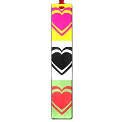 Hearts Large Bookmark